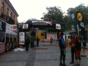 Sky Running's Aizkorri finish line in Zegama