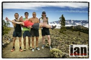 On top of La Palma!  Fun Times post TVU!