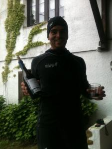 vino at zegama, best vino tinto ever!
