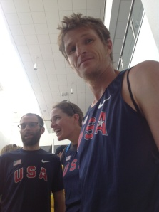 Team USA Jason Bryant rocking out the Nike vest