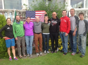 Team USA on the 4th of July in Wales