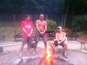Team USA with their Polish Kielbasa ;)