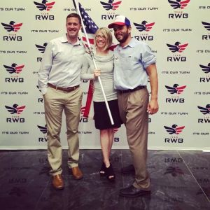 with Team RWB Founder and Chairman of the Board
